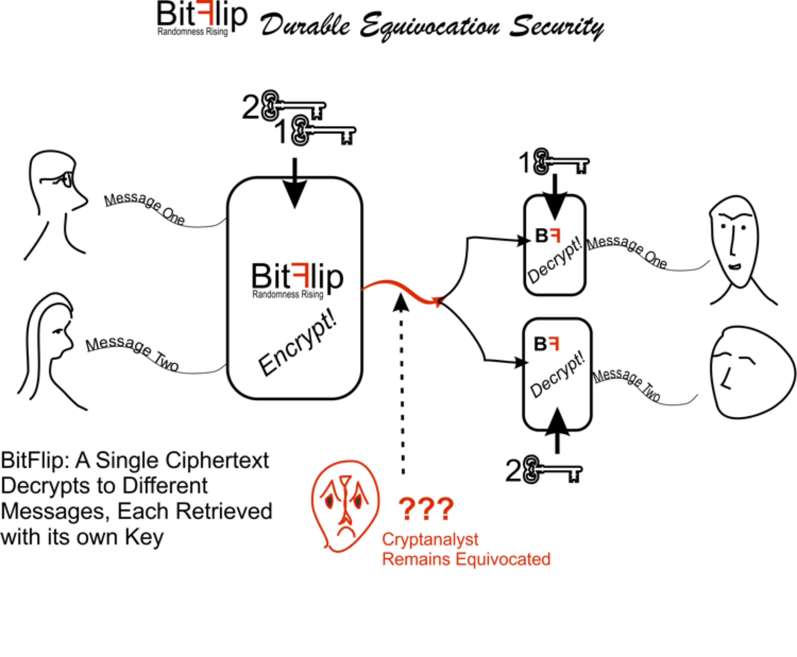 BitFlip Cipher Demonstration